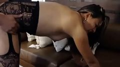 Hubby fucks his submissive wife on webcam 1 of 2