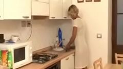 Mom Son Kitchen Fuck - Watch Part2 on porn4us.org