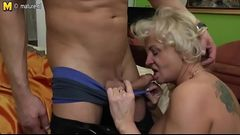 Amorous mature ma shagging and sucking brutal