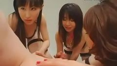 Horny Japanese whore Miki Kitazaki, Riri Kouda, Urara Haru in Incredible Stockings, Pansuto