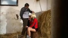 Sexy woman fucked on a straw room in a farmhouse pt1- More On HDMilfCam.com