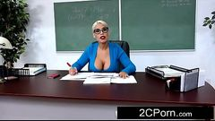 Student Wants His Teacher'_s Big Tits - Bridgette B