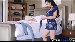 milf offering her ass to son - visit at www.royaalcams.com