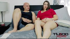 MILF Madisin Lee Fucks Stepson in Mom'_s Smelly Pussy