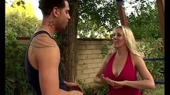 Busty MILF Kara Nox Lusting Over 19yr Old Stepson