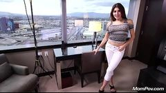 Middle Eastern Amateur Cougar Fucking POV