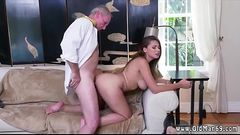 Milf fucks young first time Ivy impresses with her immense tits and