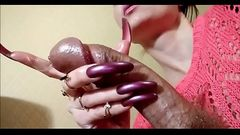 Long Nails HJ - SlutCams.xyz