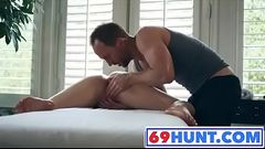 STEPSISTER Deep Pussy Massage and Creampie AFTER WORKOUT WWW.69HUNT.COM
