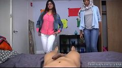 Arab mom fucks patron&#039_s daughters womanpal BJ Lessons with Mia Khalifa