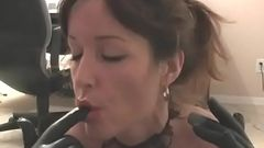 mom rachel steele taboo handjob blowjob to son in latex