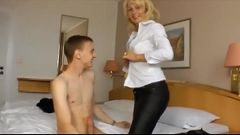stepmomlover.com - German Stepmom loves sex