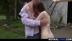 old man fucking young step-daughter and licks her pussy - www.royaalcams.com