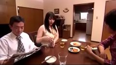 Hot Japanese Milf loves Sons Dick