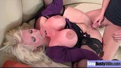 Sexy Big Tits Mommy (Alura Jenson) Enjoy Hardcore Sex Action On Tape mov-04