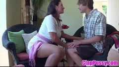 Stepmom &amp_ Stepson Affair 86 (Mommy&#039_s Sex Education) - ClapPussy.com