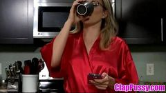 Stepmom &amp_ Stepson Affair 62 (Unexpected Breakfast) - ClapPussy.com