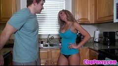 Stepmom &amp_ Stepson Affair 90 (Creampie For Mommy) - ClapPussy.com