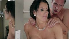 Curvy Mature Vixen Reagan Foxx Enjoys Stepson
