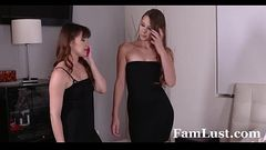 Hot Sisters Tricked into Fucking - FamLust.com