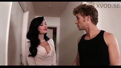 Veronica Avluv Grinds Her Wet Panties On Her Son&#039_s Friend [xVOD.se]