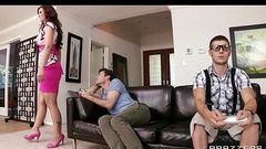 HOT redhead MILF Syren De Mer fucks her son&#039_s best friend